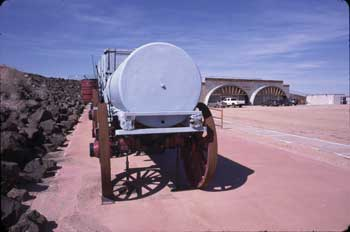 20-Mule Teem Wagons and Visitor Center
