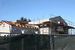 Construction at Aliso Creek Rest Area